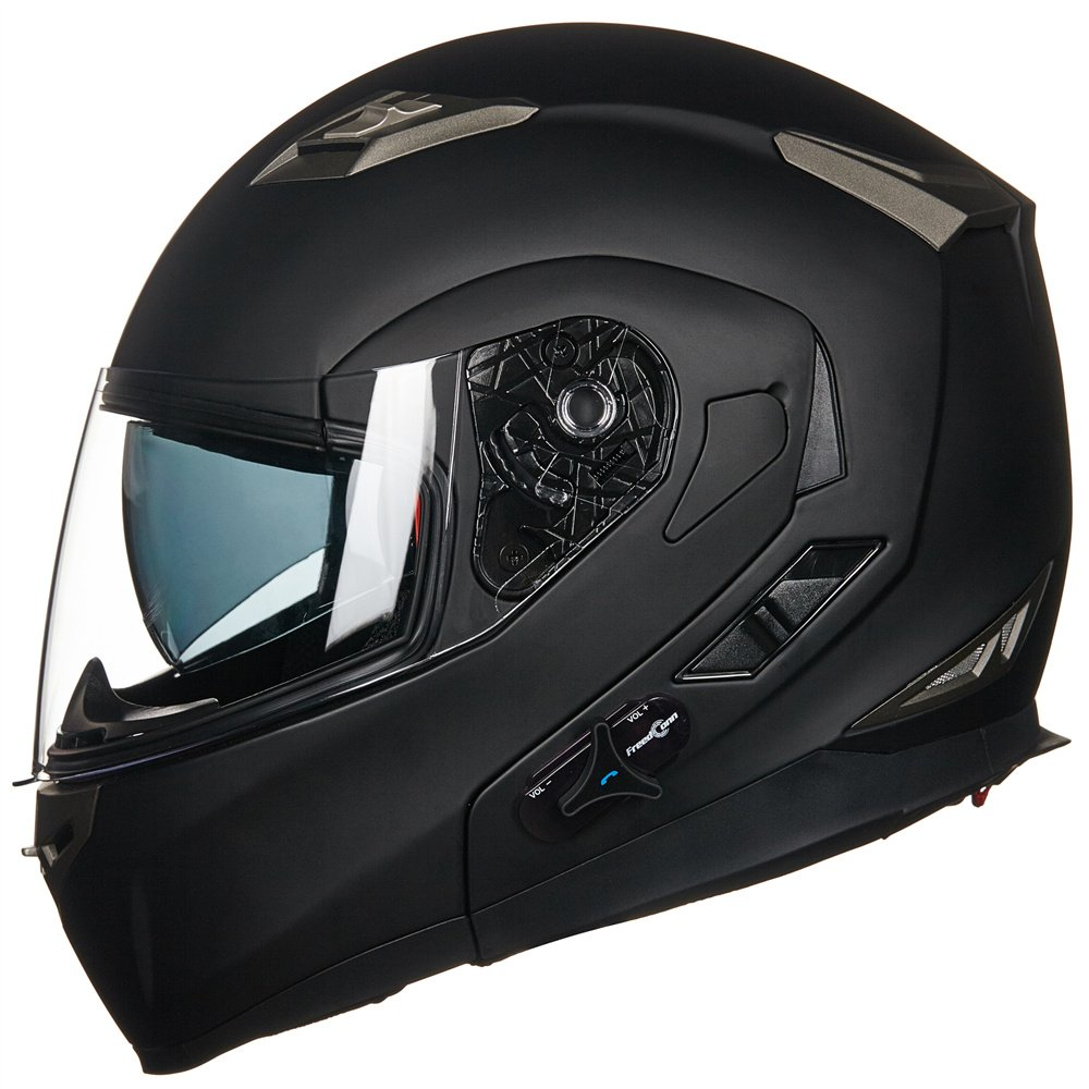 ILM Bluetooth Integrated Modular Full Face Motorcycle Helmet