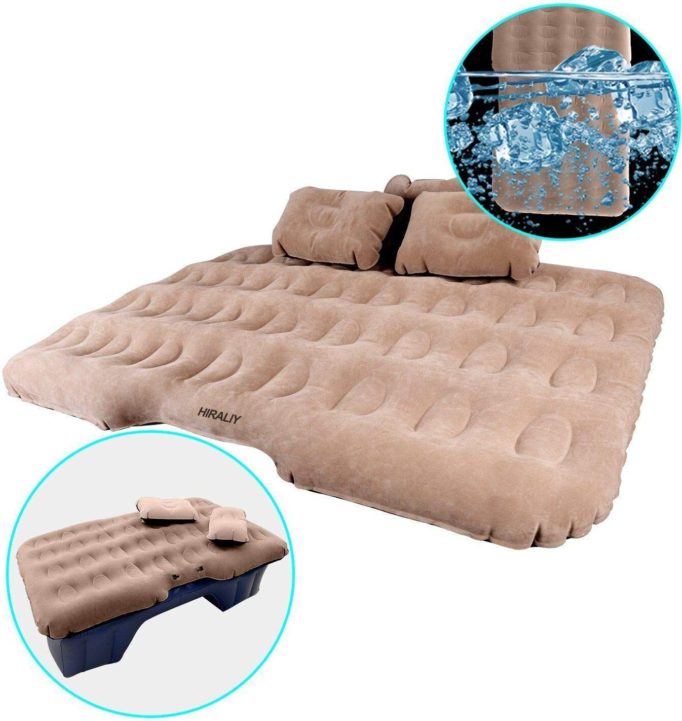 Inflatable Car Air Mattress by Shelterin