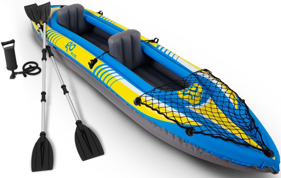 Goplus Inflatable Kayak 3 SeperateHand Pump Inflatable Boat Canoe for Adults