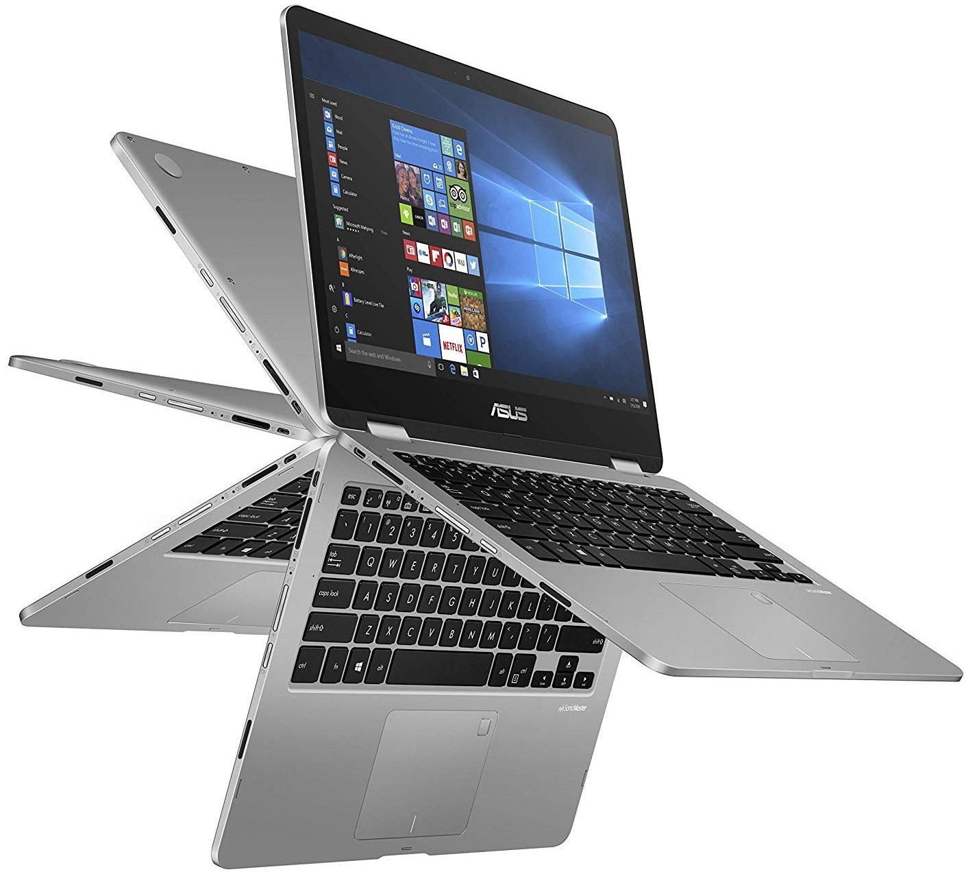 ASUS VivoBook Flip 14 Thin and Lightweight 2-in-1 FHD Touchscreen Laptop - ultrabooks