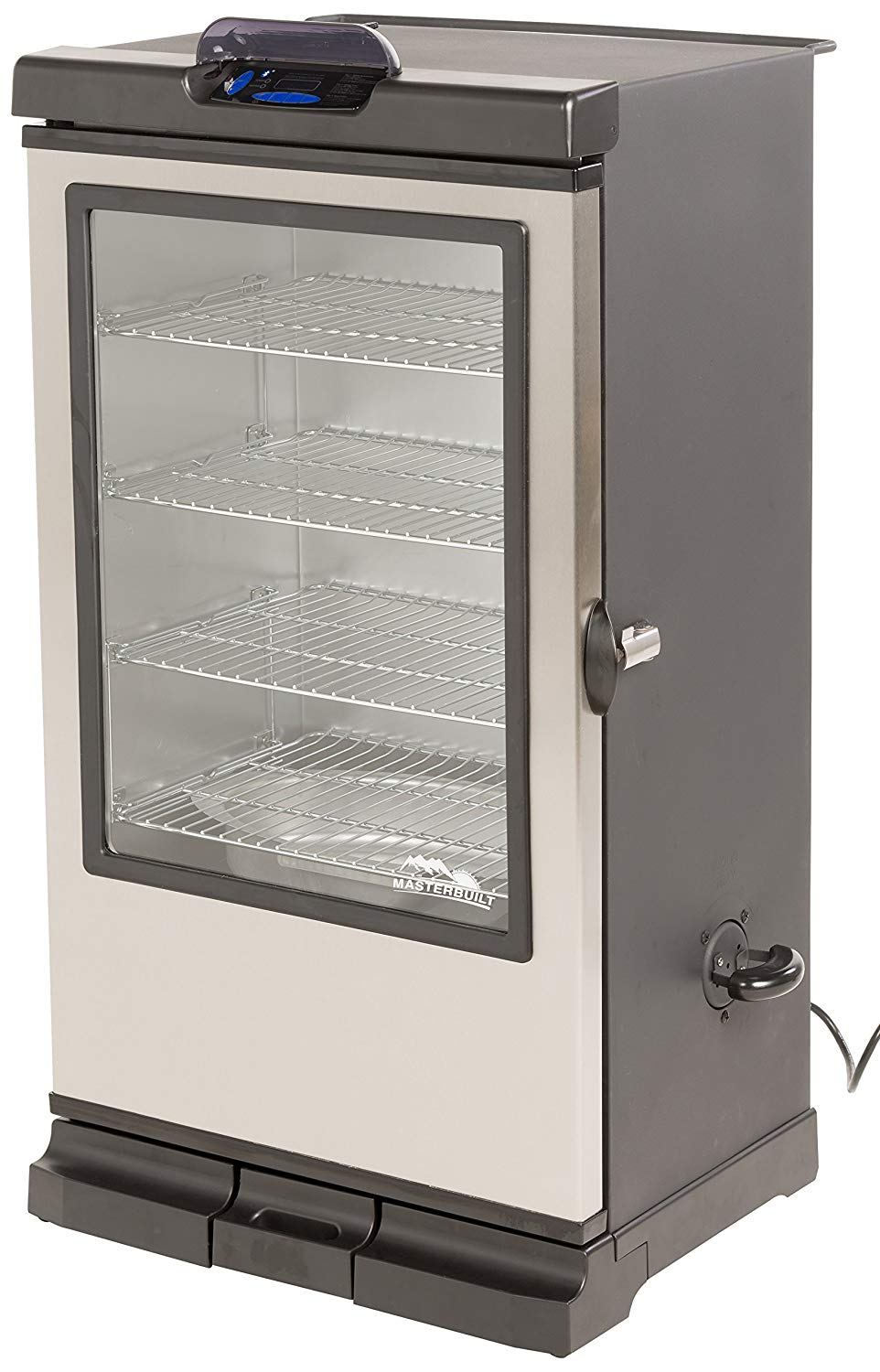 Smoke Hollow 26-Inch Electric Smoker with Adjustable Temperature Control
