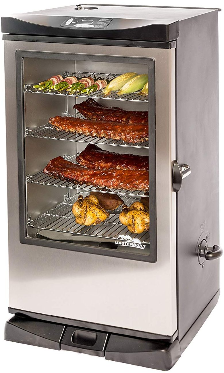 Masterbuilt Front Controller Smoker with Viewing Window and RF Remote Control - Electric Smokers