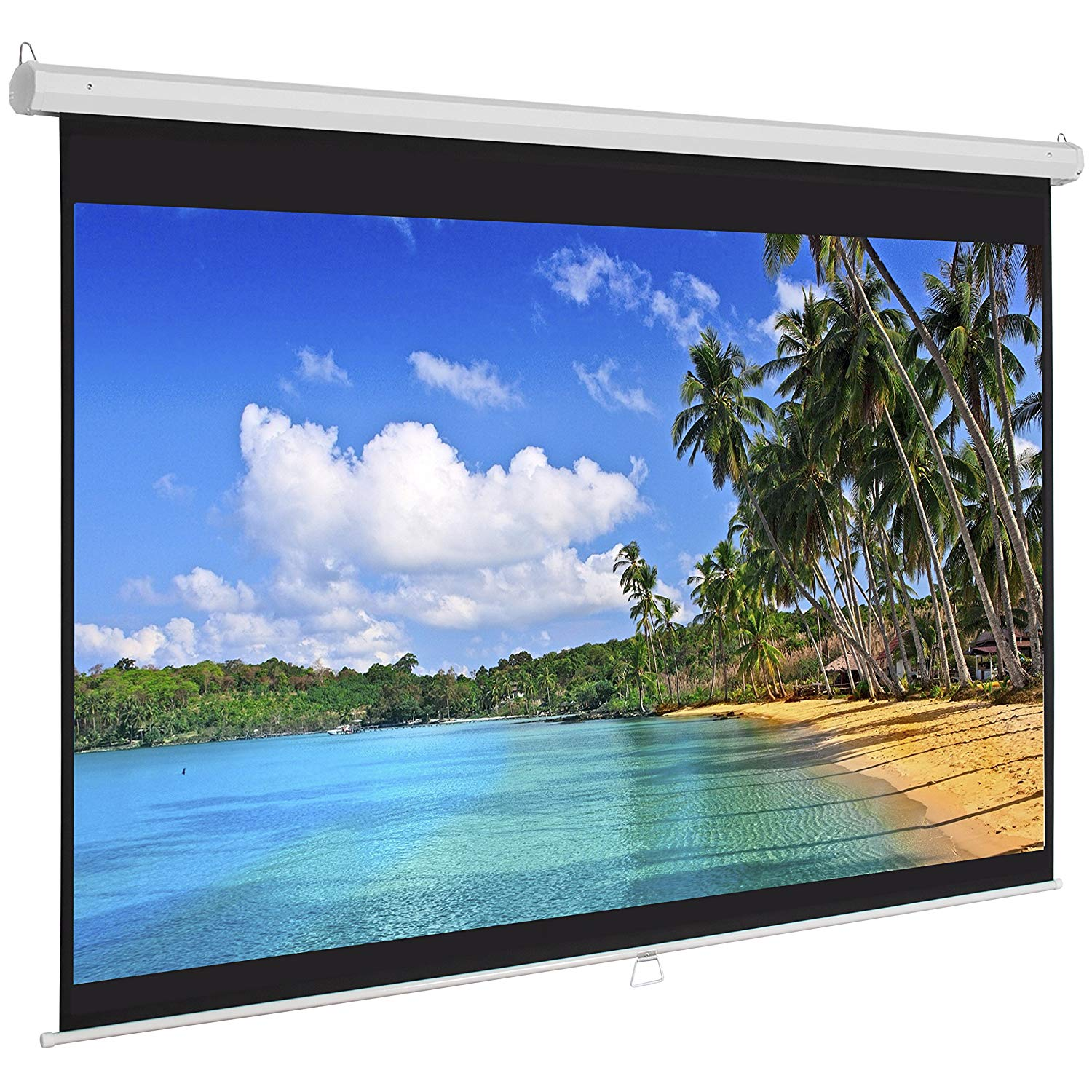 Best Choice Product Manual Projector Screen for Entertainment
