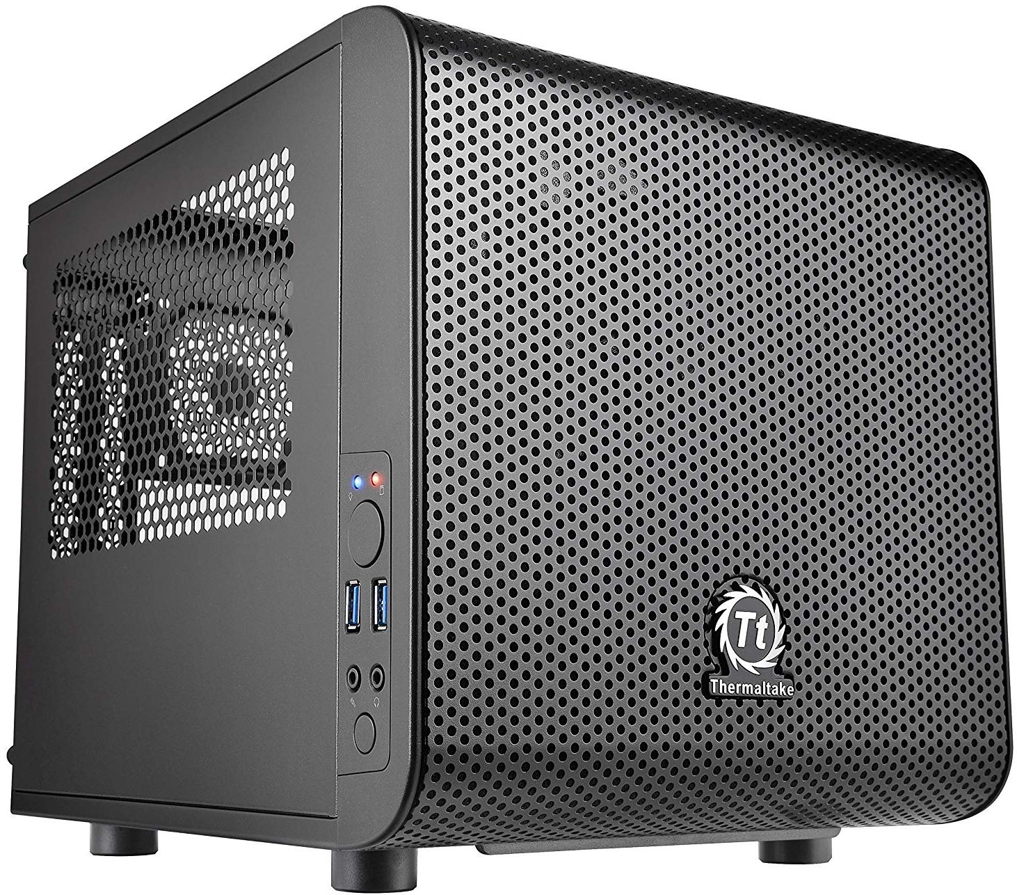 Thermaltake Suppressor F1 Mini ITX Tt LCS Certified Cube Computer Chassis
