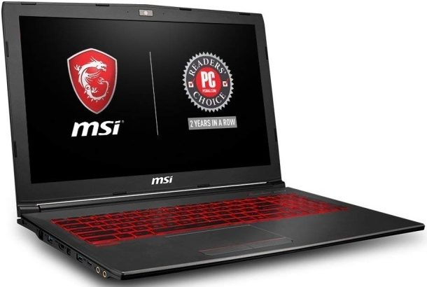 "MSI GV62 8RD-200 15.6"" Full HD្ Gaming Laptop - Budget Gaming laptop"