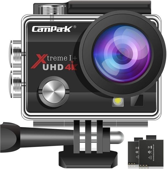 Campark ACT74 Action Camera 16MP 4K WiFi Underwater Photography Cameras 170 Degree Ultra Wide
