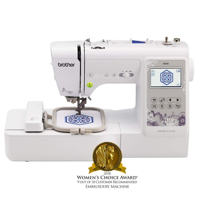 Brother Sewing Machine SE600 Embroidery Machine