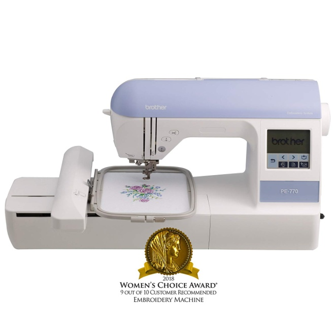 Brother Embroidery Machine PE770 Embroidery Machine
