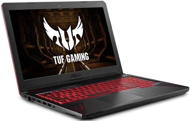 "ASUS TUF Thin & Light Gaming Laptop PC (FX504) 15.6"" Full HD"