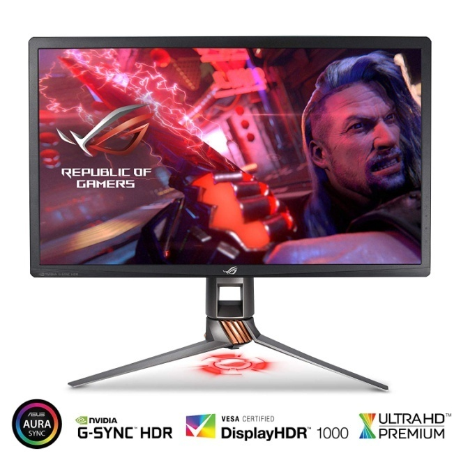 "ASUS ROG Swift PG27UQ 27"" 4K UHD 144Hz Gaming Monitor with Eye Care"