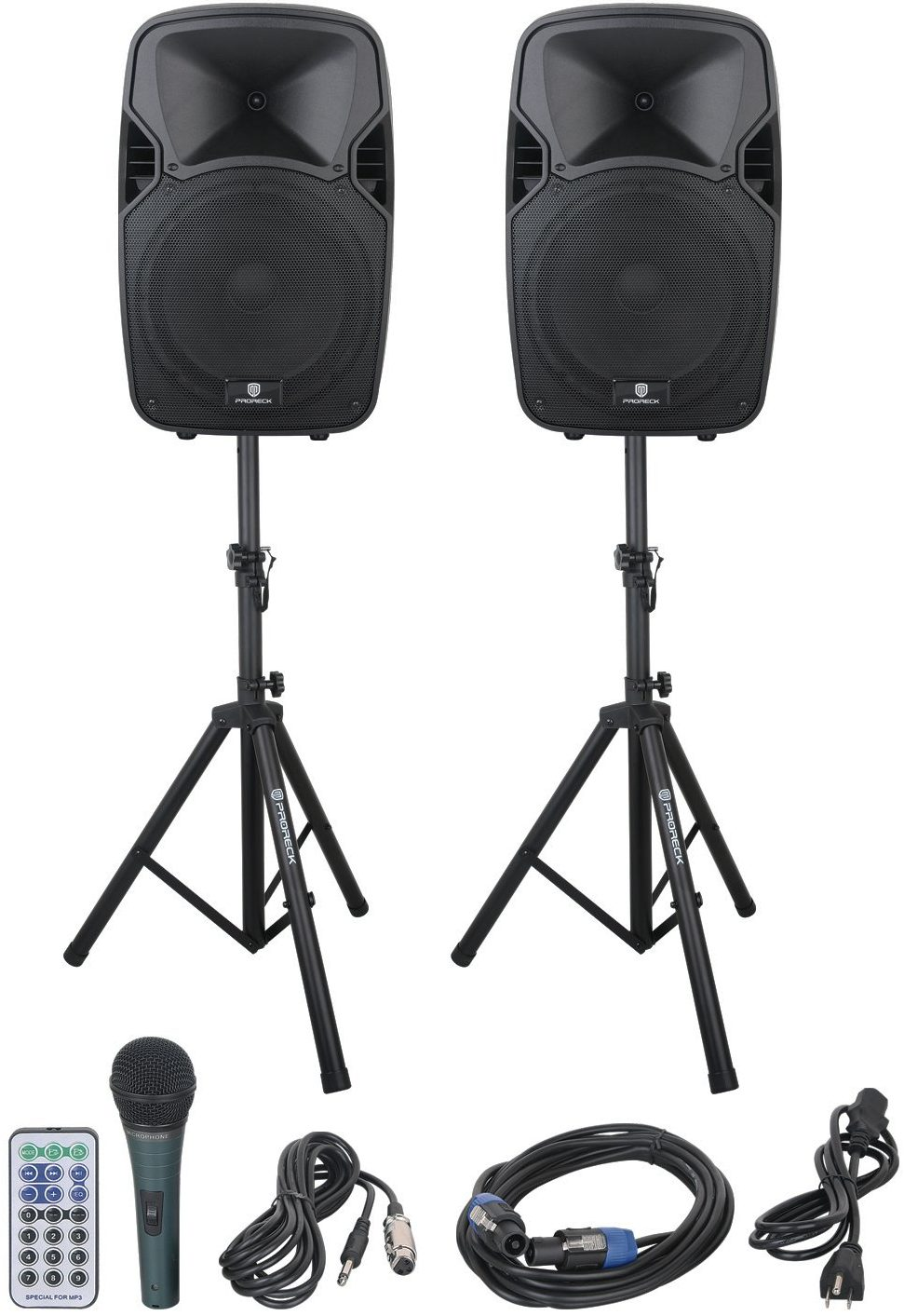PRORECK PARTY 12 Portable 12-Inch 1000 Watts