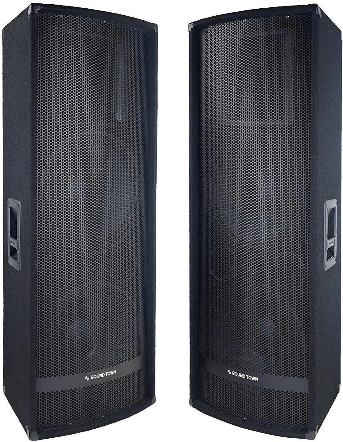 "Sound Town 2-Pack Dual 15"" 2800W - DJ Speakers"