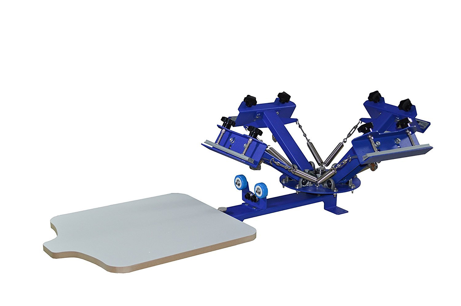 Intbuying 4 Color 1 Station​​ Screen Printing
