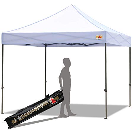 ABCCANOPY 8 by 8 EZ Pop-up Canopy Tent Commercial Instant Tent with 4 Removable Sidewalls