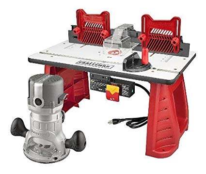 Craftsman Router and Router Table Combo Electric Router Table