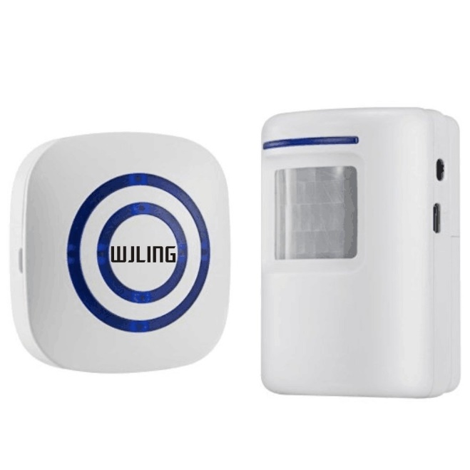 WJLING Home Security Alarm Motion Sensor Doorbells