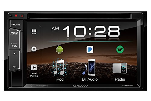 "Android Car Stereo Kenwood DDX25BT 6.2"" 2-Din in-Dash DVD Monitor Bluetooth Receiver Sirius/MP3/WMA"