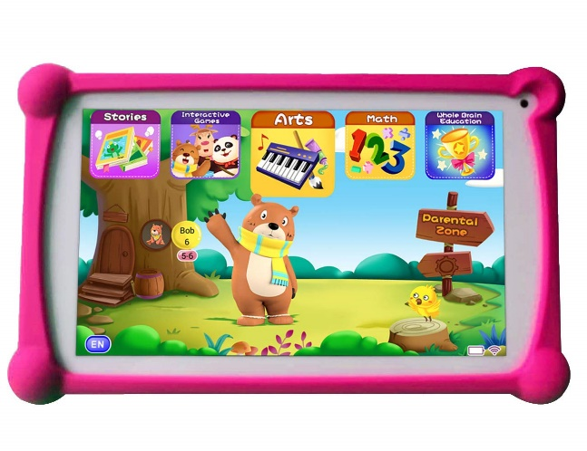 B.B.PAW Kids Tablet, 7 inches 1G+8G Android Tablets For Kids