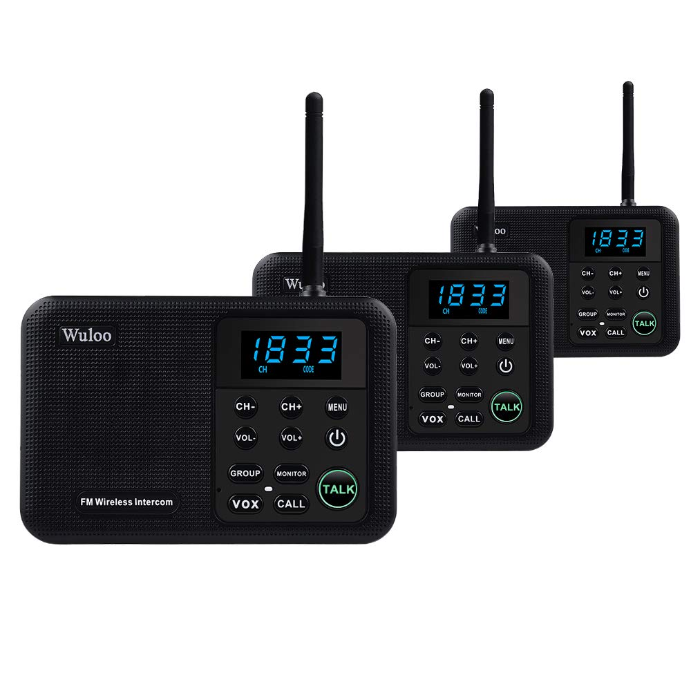 Wuloo Intercoms Wireless 22 Channel
