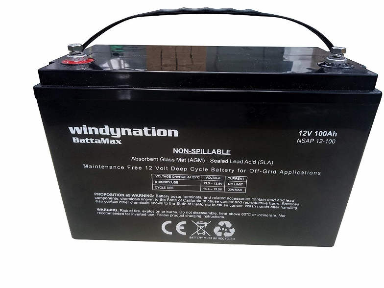 WindyNation 12V Hour Rechargeable Batteries
