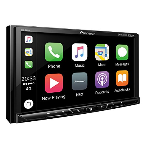 "Pioneer MVH-2300NEX Digital Multimedia Video Receiver with 7"" WVGA Display/Apple CarPlay/Android Auto/Built-in Bluetooth/SiriusXM-Ready/AppRadio Mode Android Car Stereo"