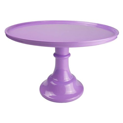 KLASKWARE Round Cake Stands With Dome