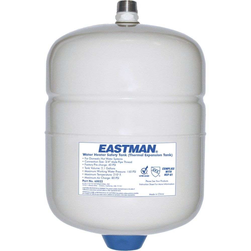 Eastman 60022 Thermal Expansion Tank, 2 Gallon White
