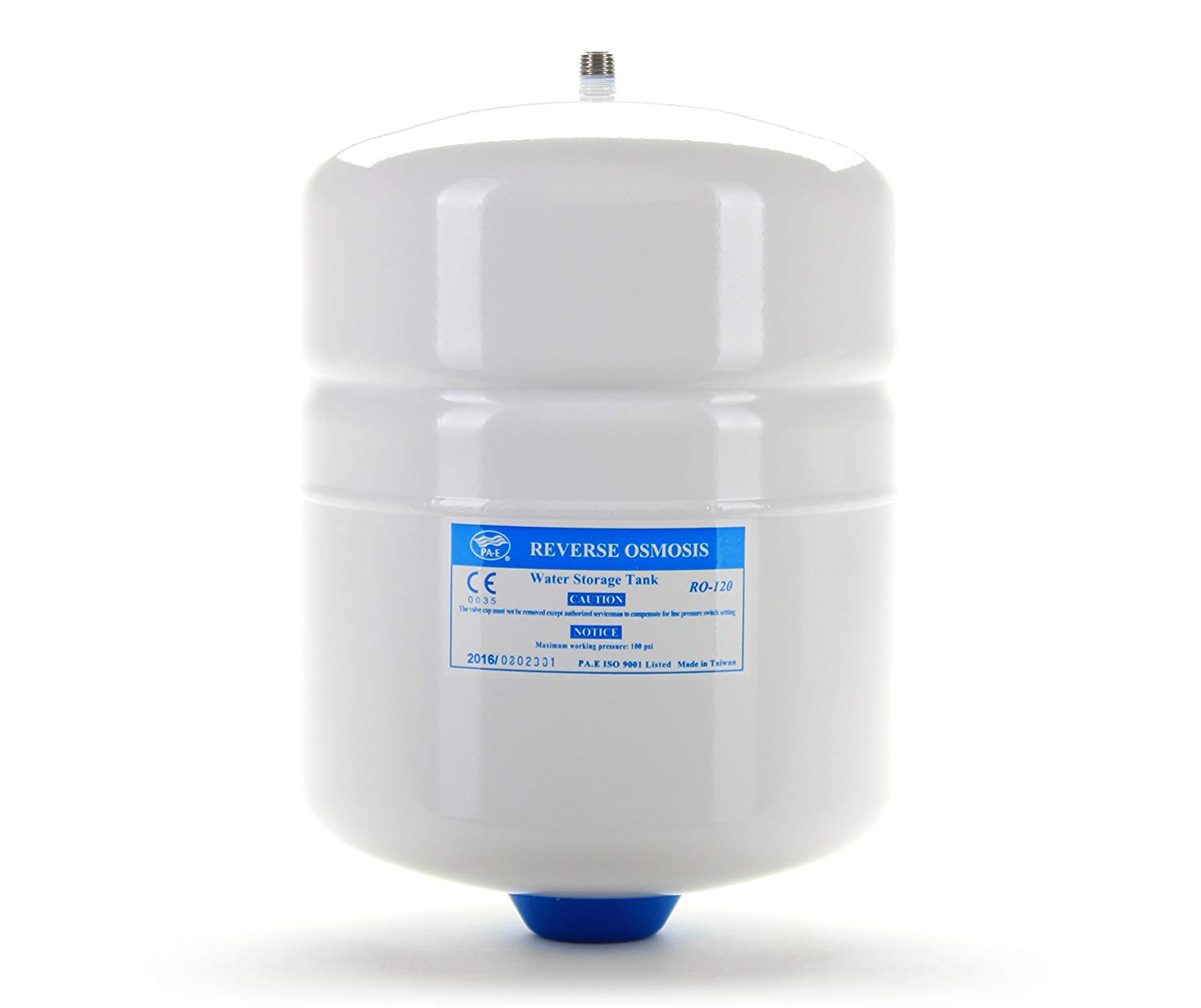 PA-E RO-122 Small Reverse Osmosis Water Storage Tank with Ball Valve for Reverse Osmosis
