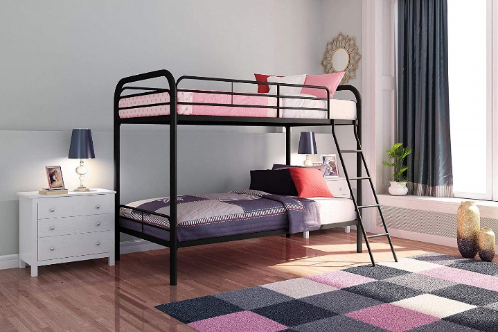 DHP Twin Bunk Bed with Metal