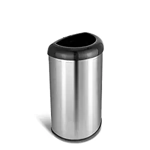 -stainless steel trash cans