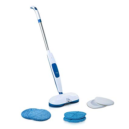 Prolux Mirage Cordless Floor Cleaner Polisher Buffer Hardwood Tile Scrubber Waxer Mop