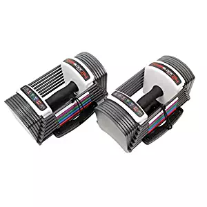 Power Block GF-SPDBLK24 Adjustable Speed Block Dumbbells