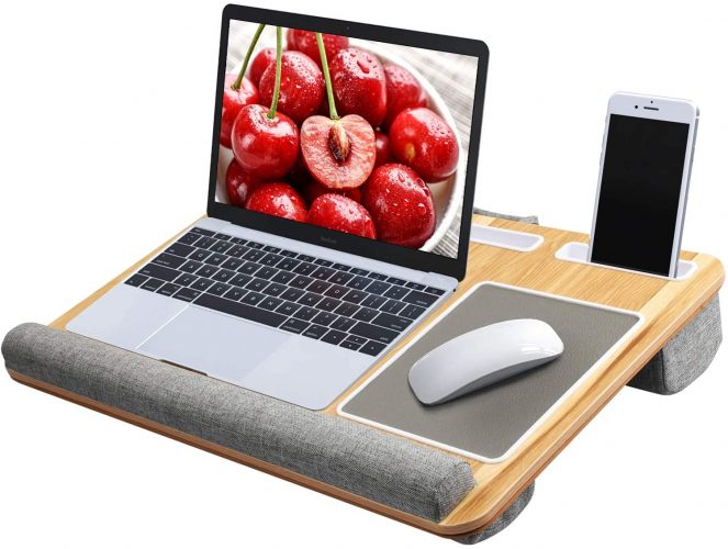 Fits up to 17 inches Laptop Desk