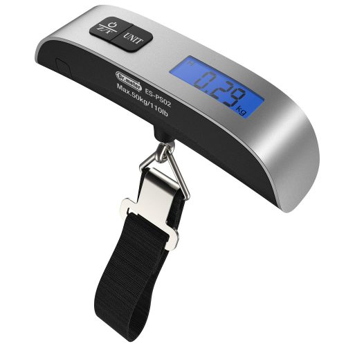 Dr.meter 110lb/50kg Backlight LCD Display Luggage Scales - Luggage Scales