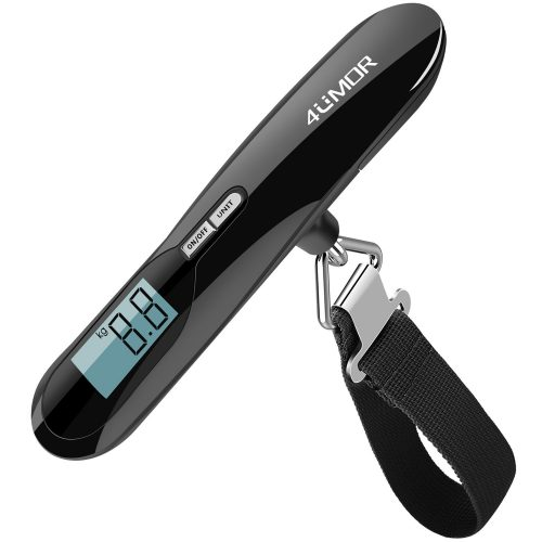 4UMOR Luggage Scale, Portable Digital Suitcase Weighing Scale- Luggage Scales