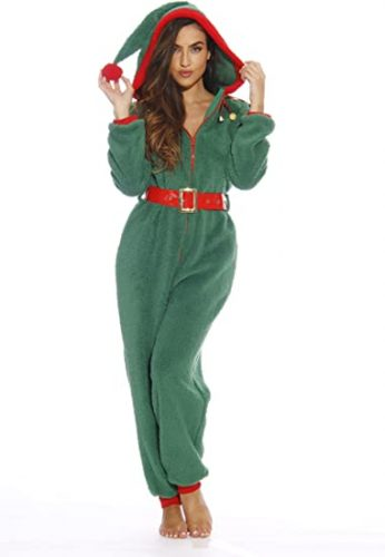 Followme Adult Christmas Onesie for Women
