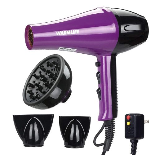 Warmlife 1875W heavy duty hair dryer - Curly Top Hair Dryer
