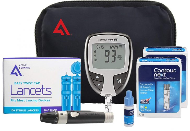 Contour NEXT EZ Diabetes Testing Kits