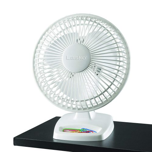 Lasko 2002W, 6-Inch, White, 2002 Fans - Air Circulator Fan