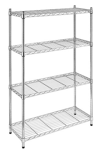 - Standing Metal Storage Shelves