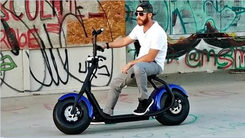Electric Scooter With Seats For Adults