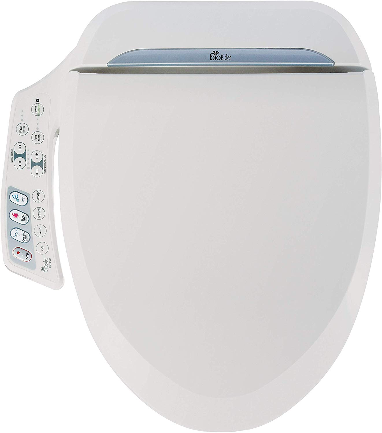Bio Bidet Ultimate BB-600 Advanced Bidet Toilet Seat - Heated Toilet Seats