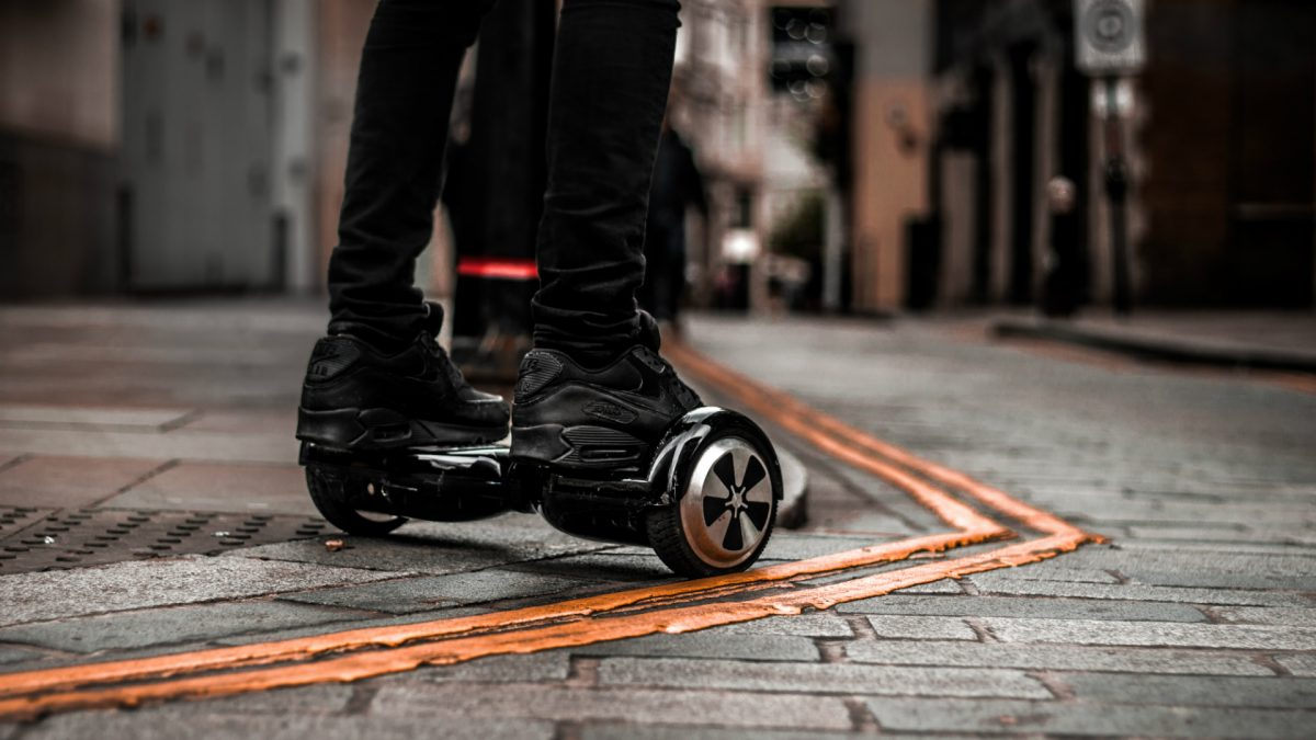 Jetson V12 Hoverboard | Ride The Joy!