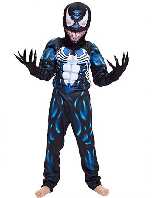 JAPANSCHOICE Kids Superhero Costume Suit 3D