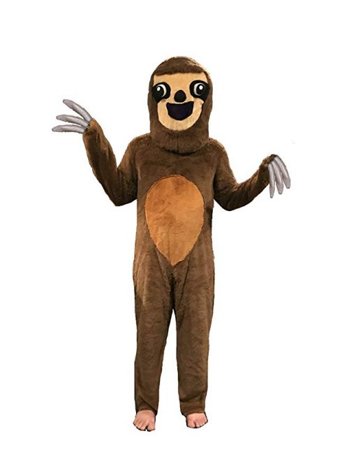 Party Sloth Costume Brown