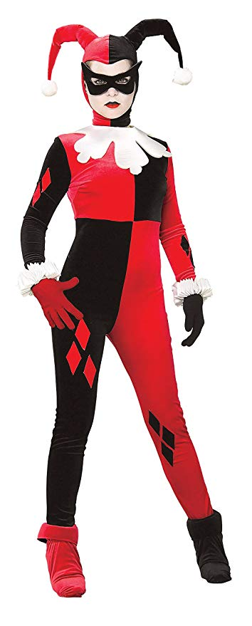 Rubie DC Heroes and Villains Collection Harley Quinn Costume