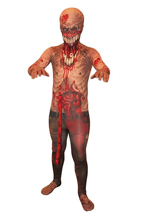 Morphsuits Kids Exploding Guts Zombie Monster Costume
