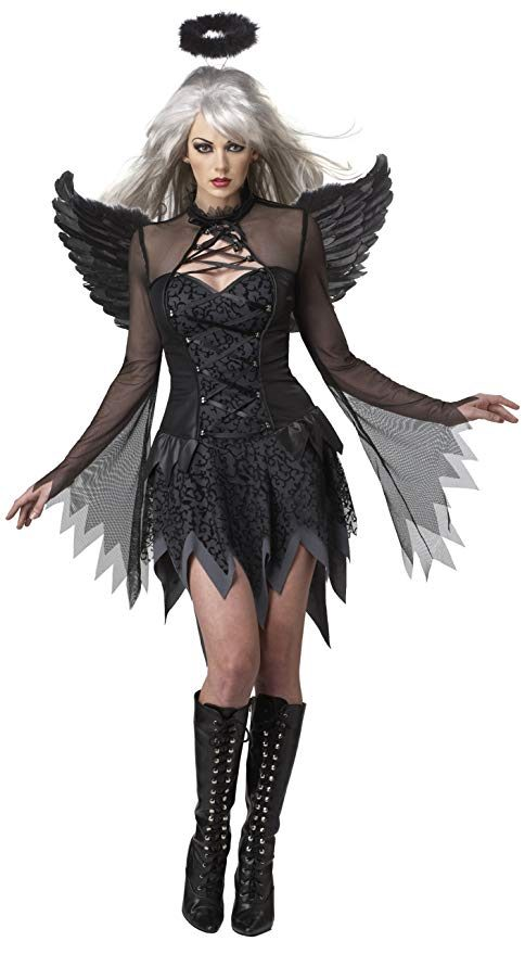 California Costumes Fallen Angel Dress Costume