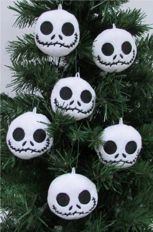 Nightmare Before Christmas Plush Ornament Set