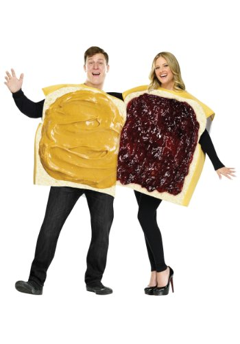 Couple Halloween Costumes - FunWorld Peanut Butter And Jelly Set